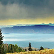 View Of Bear Lake Art Print by Utah-based Photographer Ryan Houston