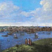 View Of Boston, 1738 Art Print