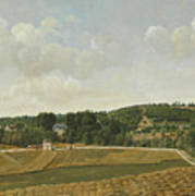 View Of Chatenay Art Print