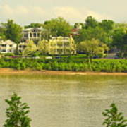 View Of Covington Kentucky Art Print