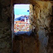 View Of Dubrovnik  Art Print