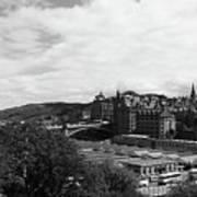 View Of Edinburgh Art Print