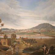 View Of El Paso Art Print