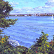 View Of Erie Art Print