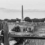 View Of Gettysburg  Art Print