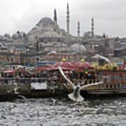 View Of Istanbul Art Print