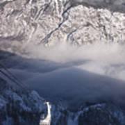 View Of Julian Alps From Vogel Mountain Art Print
