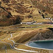View Of Kleine Scheidegg Art Print