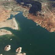 View Of Lake Powell Art Print