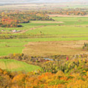 View Of Ottawa Valley In Autumn 13 Art Print