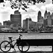 View Of Philadelphia  Art Print by Andrew Dinh