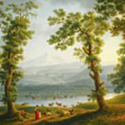View Of Piedimonte Art Print