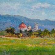 View Of Pisa From Countryside Art Print