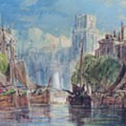 View Of Rotterdam Art Print