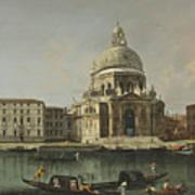 View Of Santa Maria Della Salute. Venice Art Print