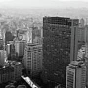 View Of Sao Paulo Art Print