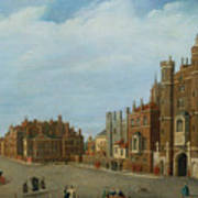 View Of St. James's Palace And Pall Mal Art Print