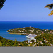 View Of St. Lucia Art Print