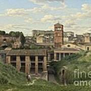 View Of The Cloaca Maxima - Rome Art Print