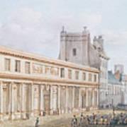 View Of The Ecole De Medecine Art Print