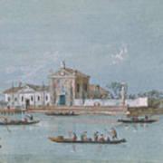 View Of The Island Of B.v. Del Rosario Art Print