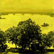 View Of The Potomac Art Print