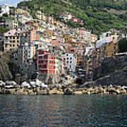 View Of The Riomaggiore, La Spezia Art Print