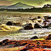 View Of The Sugarloaf Mountain From Killiney, 1b Art Print