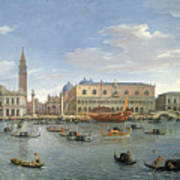 View Of Venice From The Island Of San Giorgio Art Print