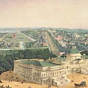 View Of Washington Dc Art Print