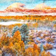 View Of Yosemite National Park Art Print