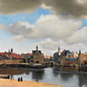 View On Delft Art Print