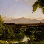 View On The Catskill Art Print