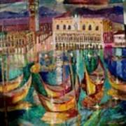 View On Venice Art Print
