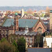 View Over Bristol With Bristol Grammar School Art Print