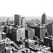View Over Downtown Chicago Art Print