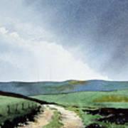 View Over Pole Moor Art Print