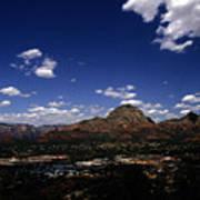 View Overlooking Sedona, Arizona Art Print
