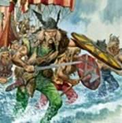 Vikings Print by Pete Jackson