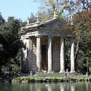 Villa Borghese Park Art Print