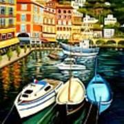 Villa Franche Art Print