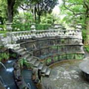 Villa Lante Garden Art Print