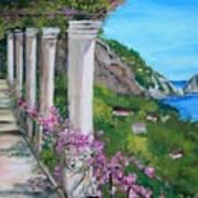 Villa San Michele In Anacapri Art Print