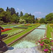 Villa Taranto Gardens,lake Maggiore,italy Art Print