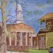 Village Hall- Montour Falls Art Print