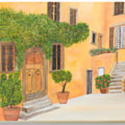 Village In Tuscany N. 4 - Art Print