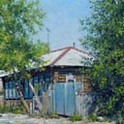 Village Line. Summer Art Print