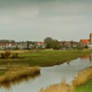 Village Of Kinderjik Netherlands Art Print