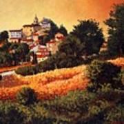 Village Of Molise Italy Art Print