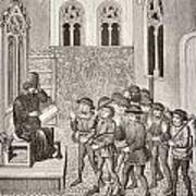 Villains Receiving Their Lord S Orders Art Print